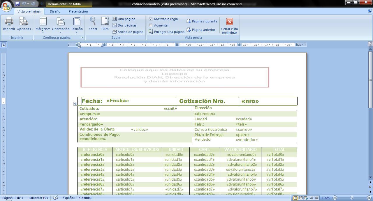 formato ms word - Gidiye.redformapolitica.co
